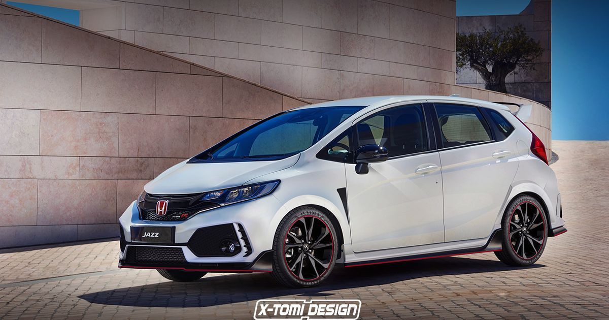 If Only This Honda Jazz Type R Was A Real Thing