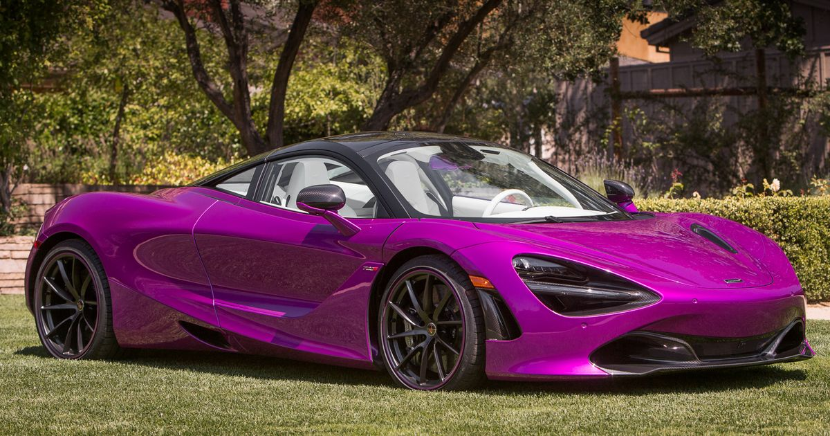 McLaren Has Made Its Most Eye-Catching 720S Yet