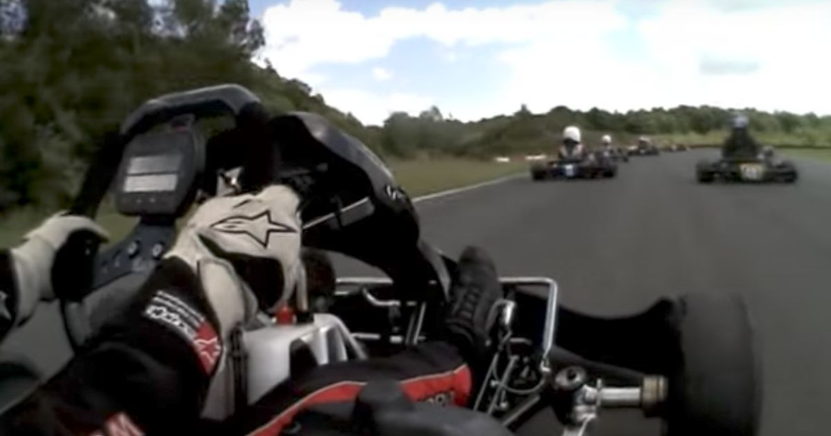 Here's 12-Year-Old Max Verstappen Destroying Everyone In A