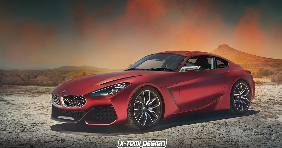 Alluring Render Imagines The Z4 Coupe BMW Isn t Going To Make