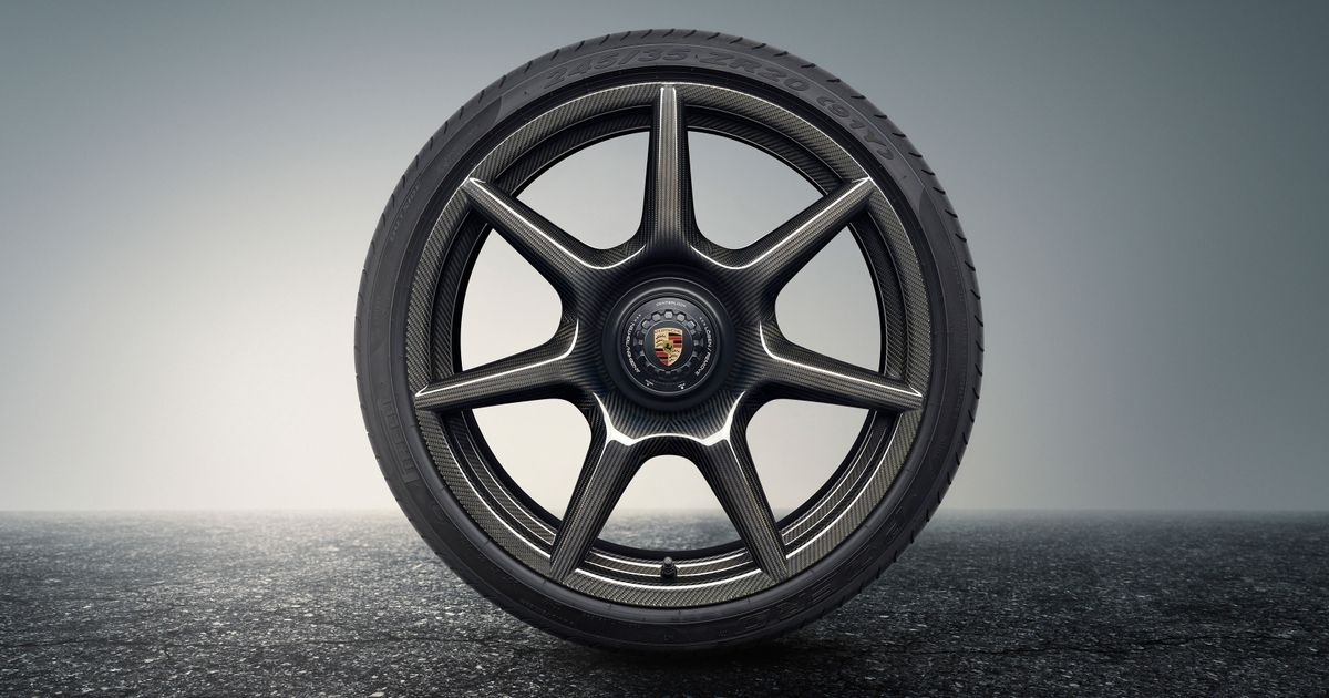 Porsche s New Braided Carbonfibre Wheels Could Be The Coolest Rims We ve Ever Seen