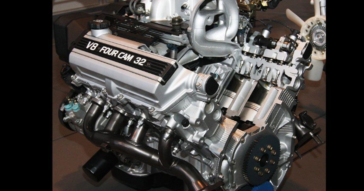 Three awesome Japanese V8 engines
