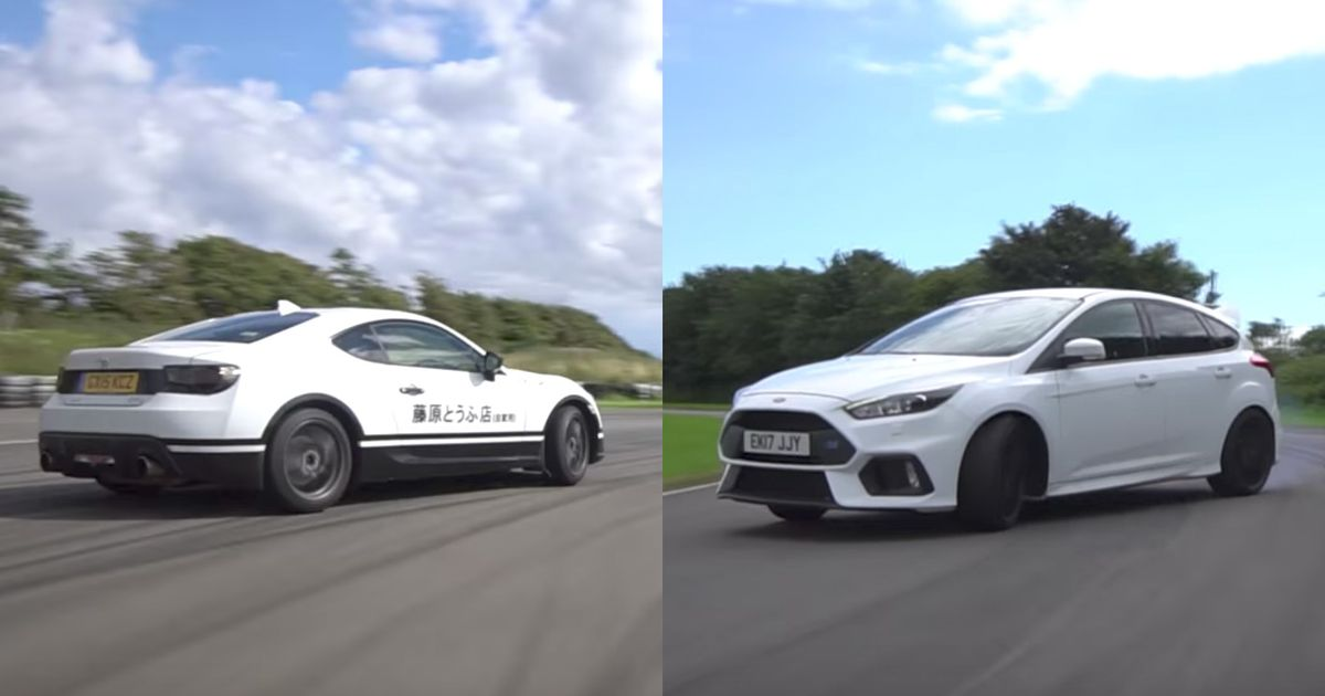 What S The Better Drift Car A Ford Focus Rs Or A Modified Toyota