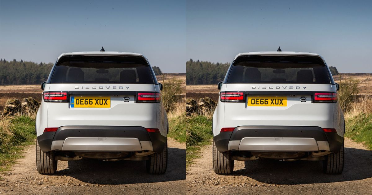 Lr Design Boss Blames Wrong Number Plates For Discovery