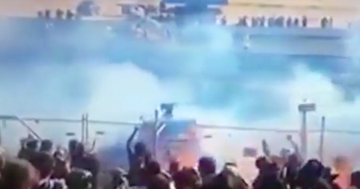 Spectators Sprayed With Burning Fuel During Burnout
