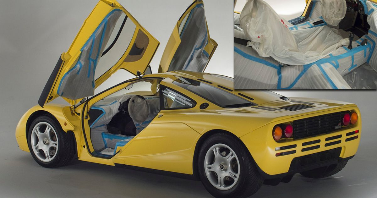 A Delivery Mileage McLaren F1 Is Up For Sale, And It Makes Us A Bit Sad