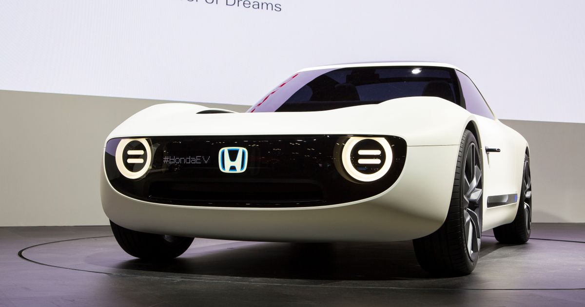 Theres Now A Honda Sports EV Concept And We Want One