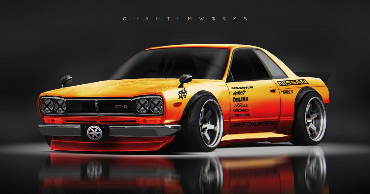 Used Alfa Romeo >> Nissan Skyline R32 GT-R + KPGC-10 (Inspired by Rocket ...