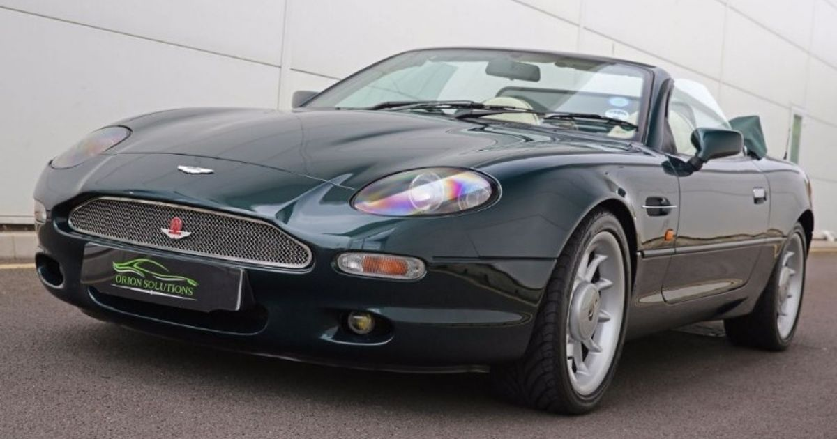 The DB7 Volante Blends Soft-Top Aston Martin Thrills And A Hot ...
