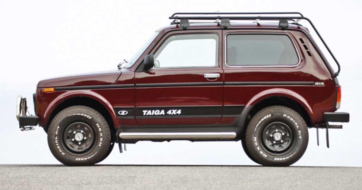 The History Of The Lada Niva Blogpost