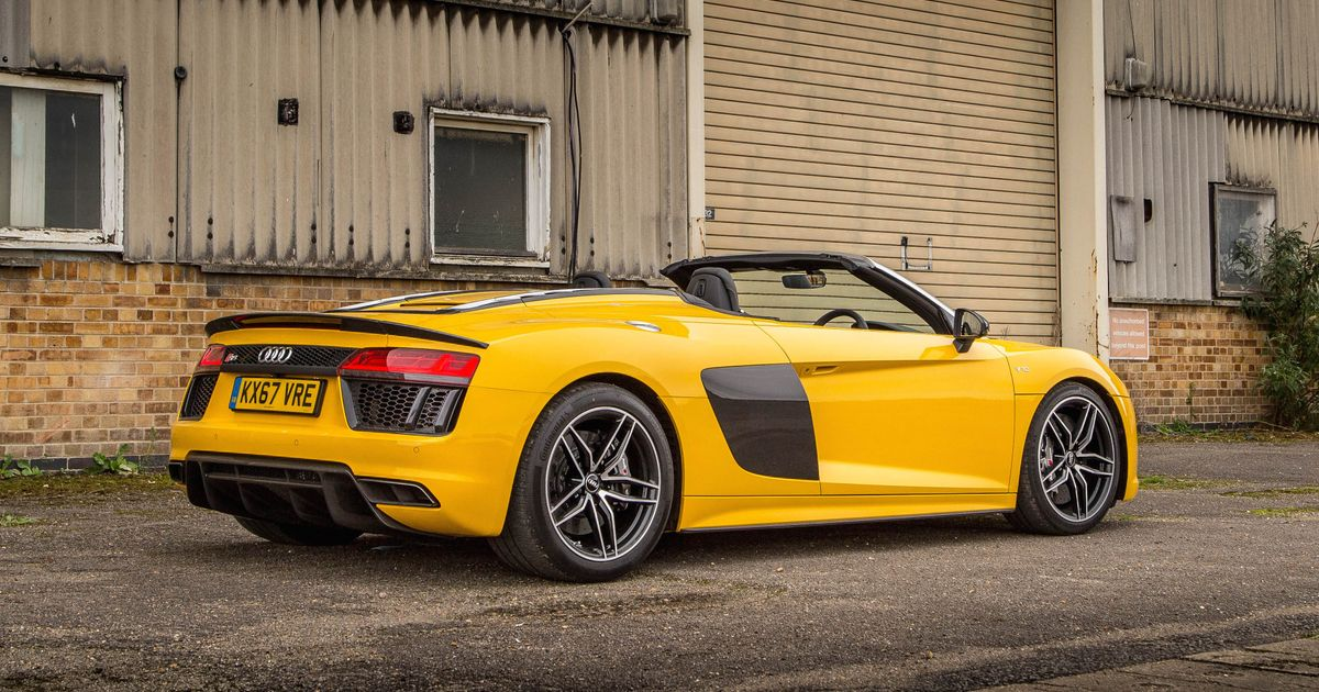 Audi R8 Spyder V10 Plus Review Not The Best Supercar But