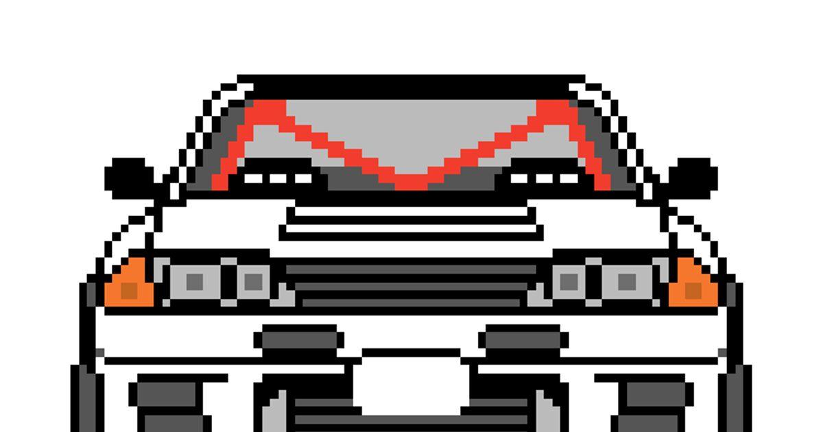 R32 Gt R Pixel Art Pixelart