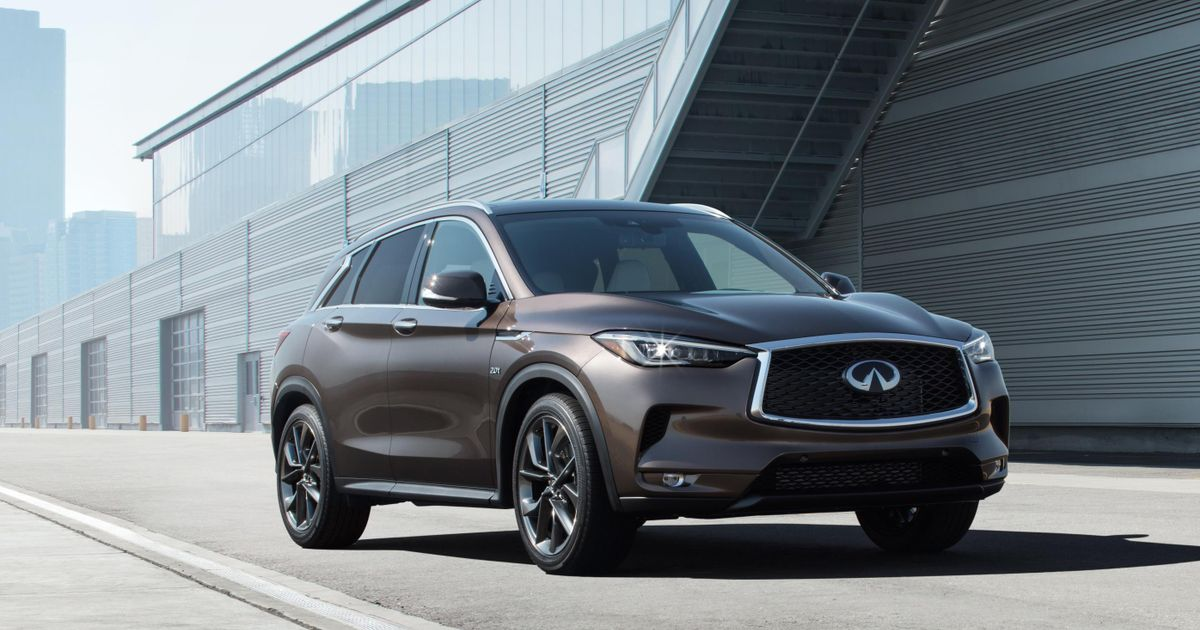 This New Infiniti SUV Is A Piece Of Modern Automotive History