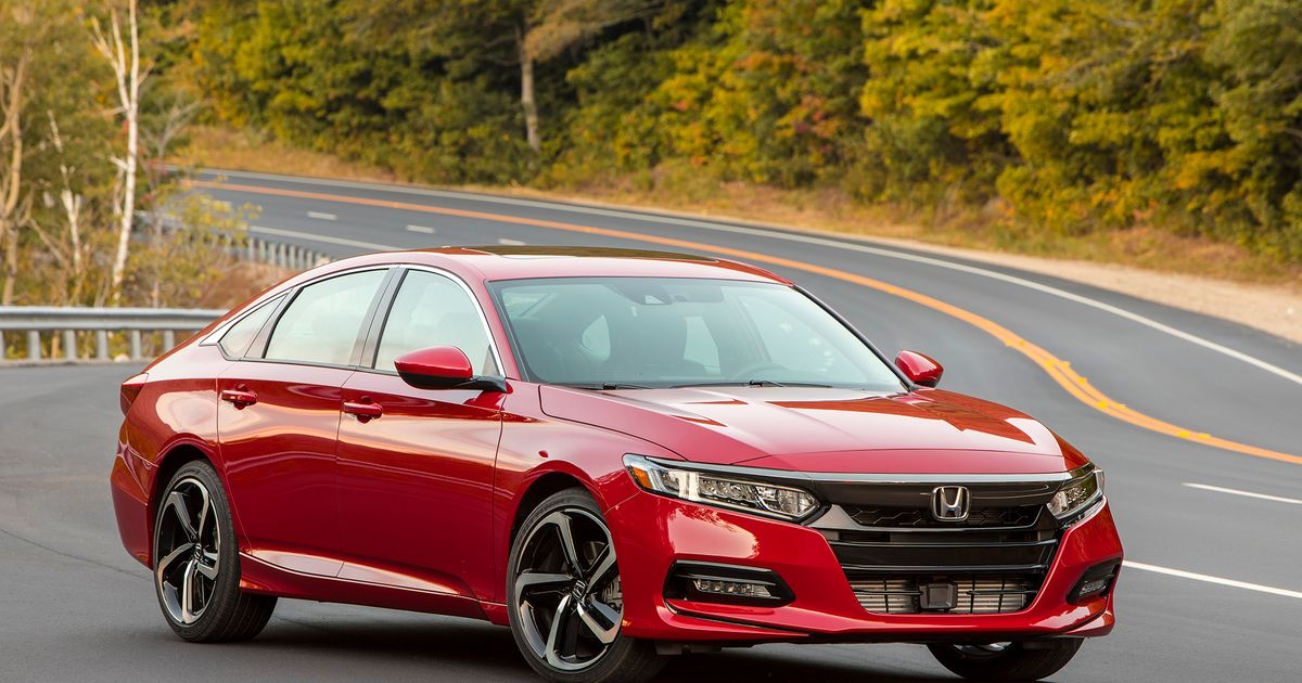 There's A 104-Day Supply Of Honda Accords, Because They're Not Selling