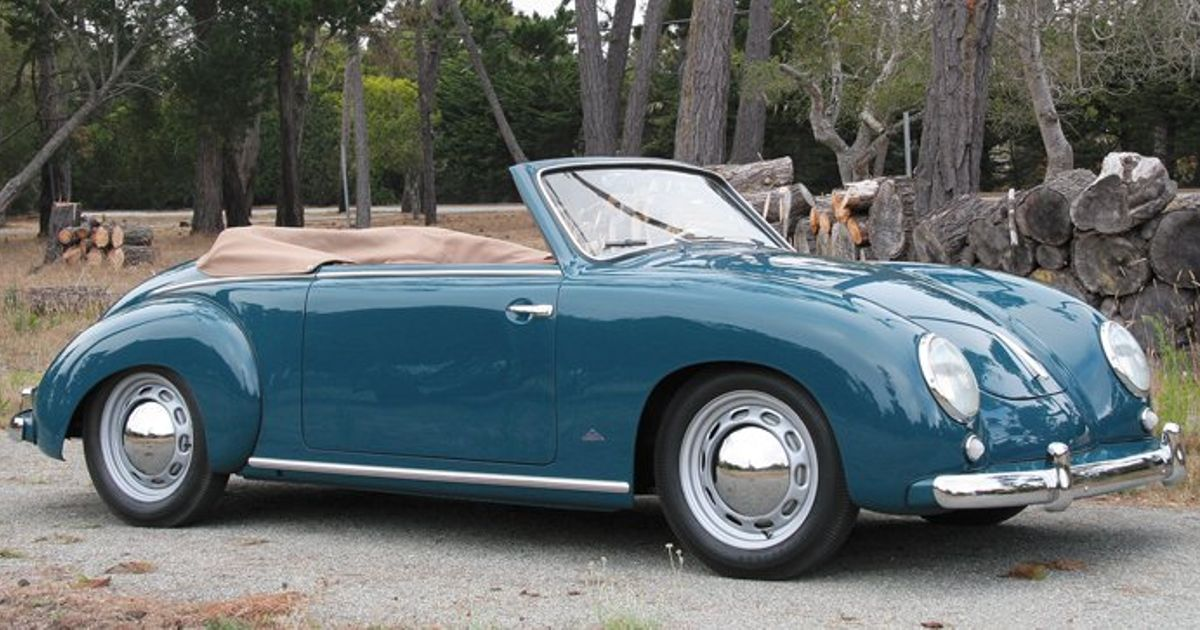 No It S Not A 356 The Dannenhauer And Strauss Cabriolet