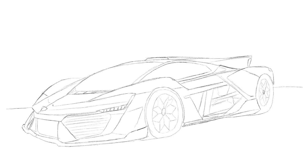 X 1 2020 Prototpye Inspired By The New Lamborghini Terzo Millenio