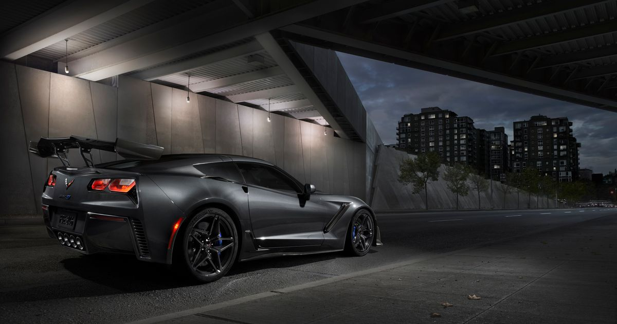 Chevrolet S First 2019 Corvette Zr1 Sold For Nearly 1 Million