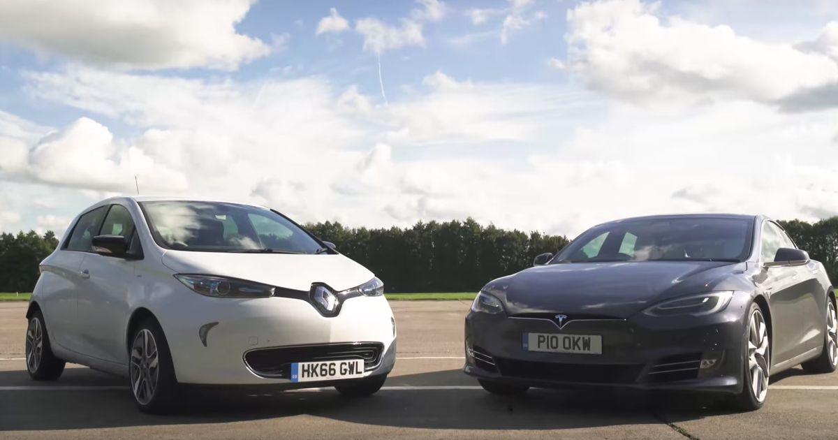 Cheap Brake Jobs >> This Tesla Model S Vs Renault Zoe Showdown Is Actually Quite Close