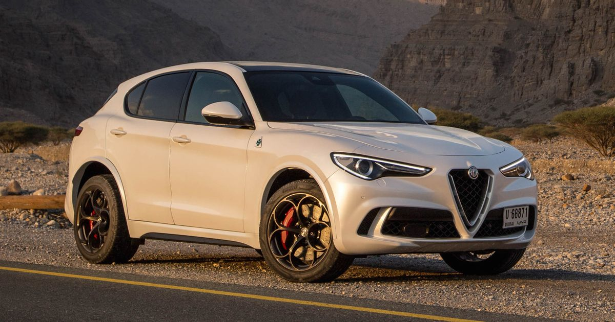 alfa romeo stelvio quadrifoglio review the macan beater even suv haters could love. Black Bedroom Furniture Sets. Home Design Ideas