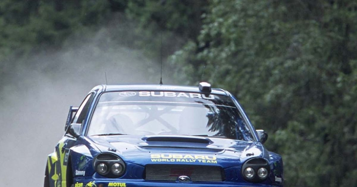 Subaru Wrx Sti Bugeye Rally Phone Wallpaper