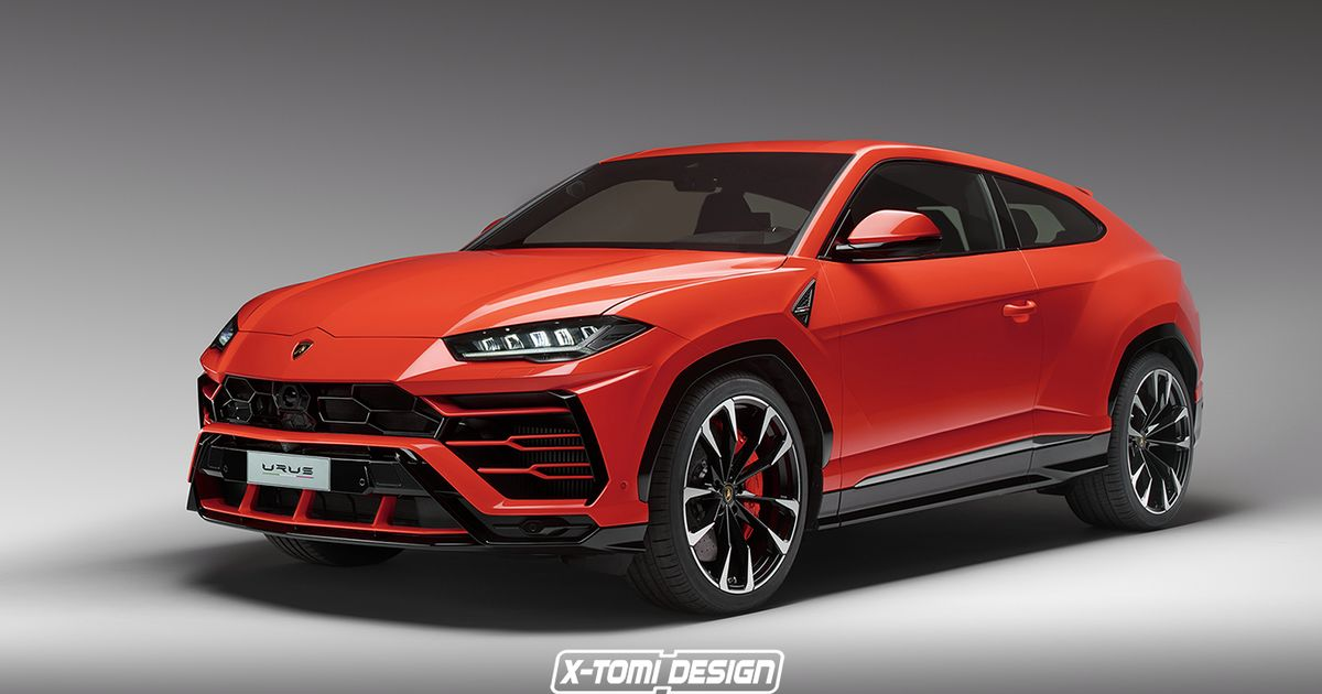 Here Are Two More Lamborghini Urus Renders To Wrap Your