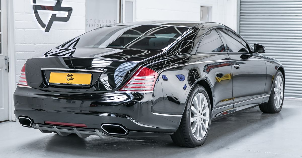 1 of 6 maybach xenatec coupes for sale!