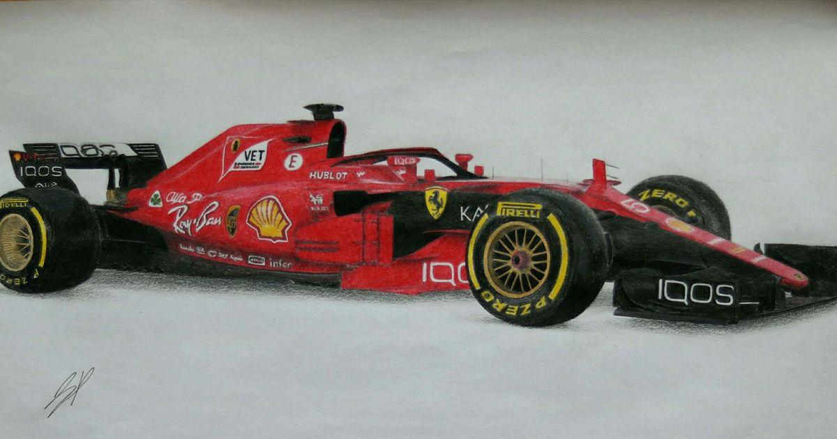 Ferrari F1 2018 Render