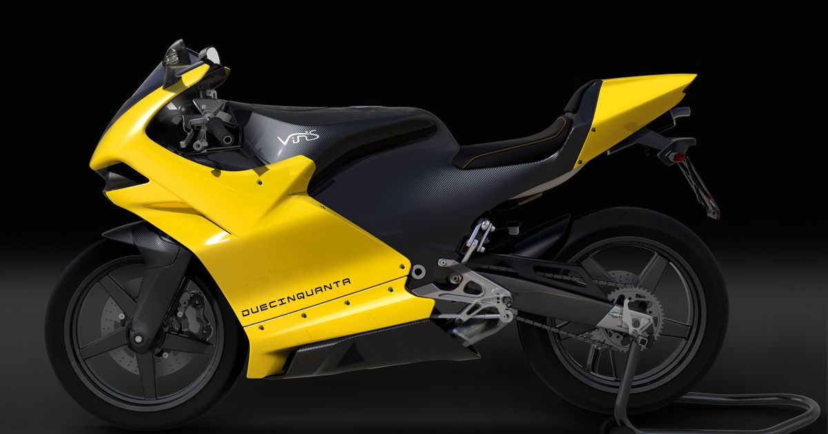 Here's A Modern Two-Stroke Sports Bike Made By Former Ferrari
