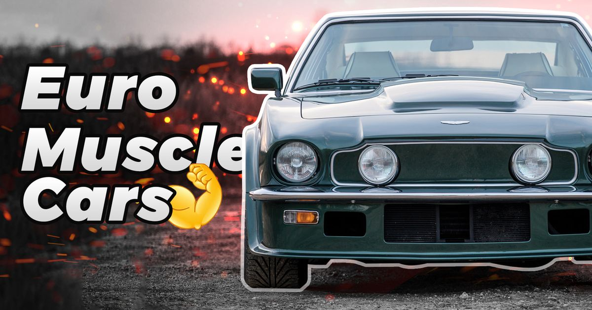 Top 10 European Muscle Cars