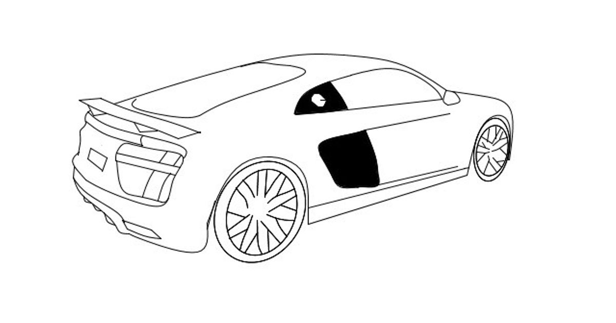My Image Of A Audi R8 Took Ages But Worth It For The R8