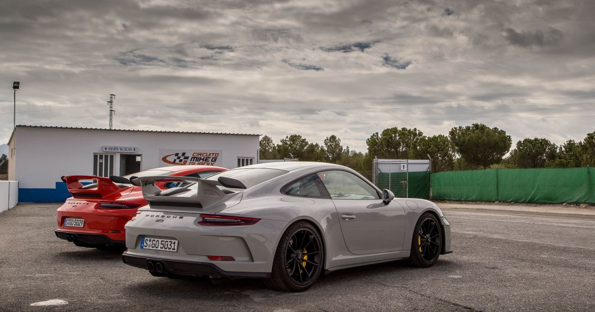 It Looks Like The Next Porsche 911 Gt3 Will Be