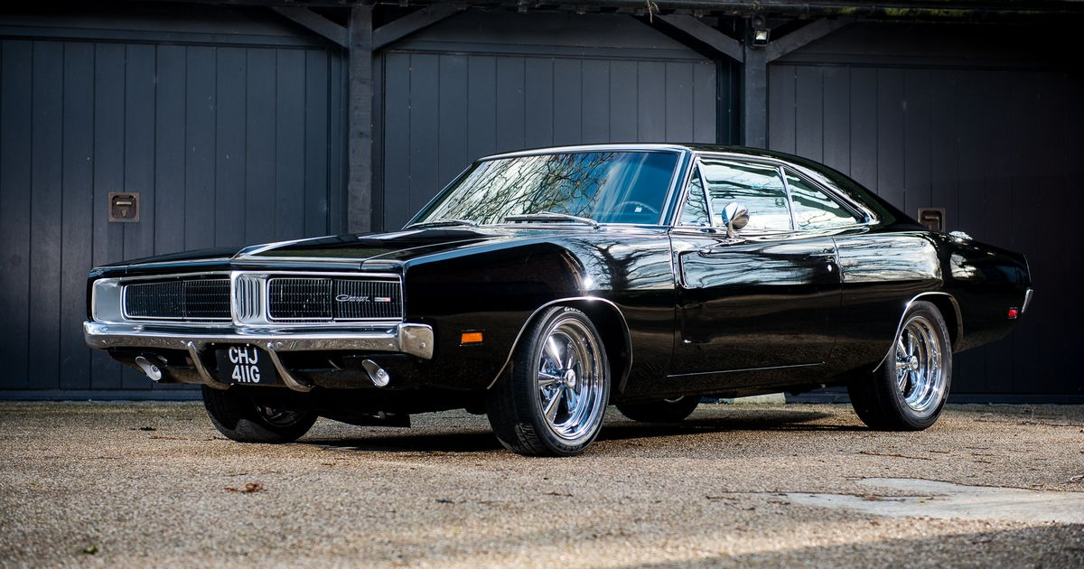 Monday Sucks, But Here's A Mint 1969 Dodge Charger 'Bullitt' For Sale