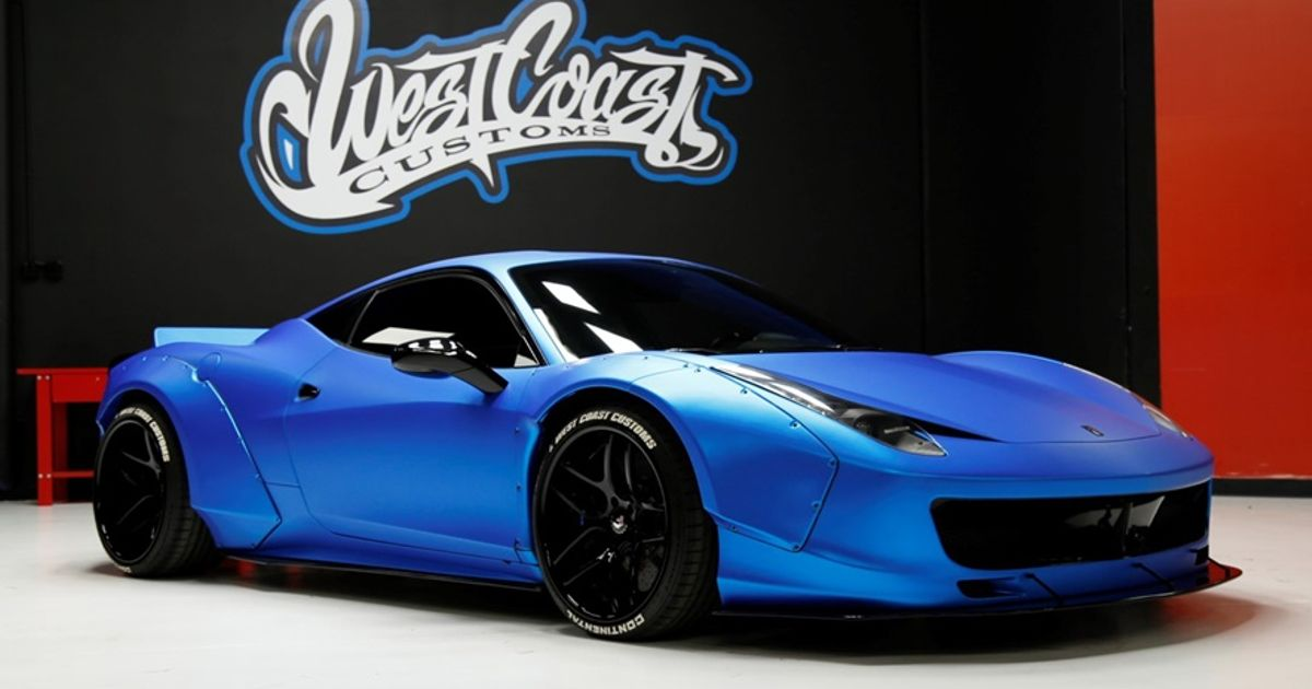 Wide Body Supercars A Rant