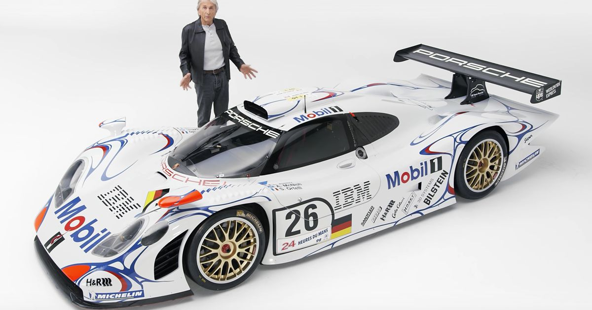 Watch Derek Bell Reveal The Top 5 Porsche Race Cars