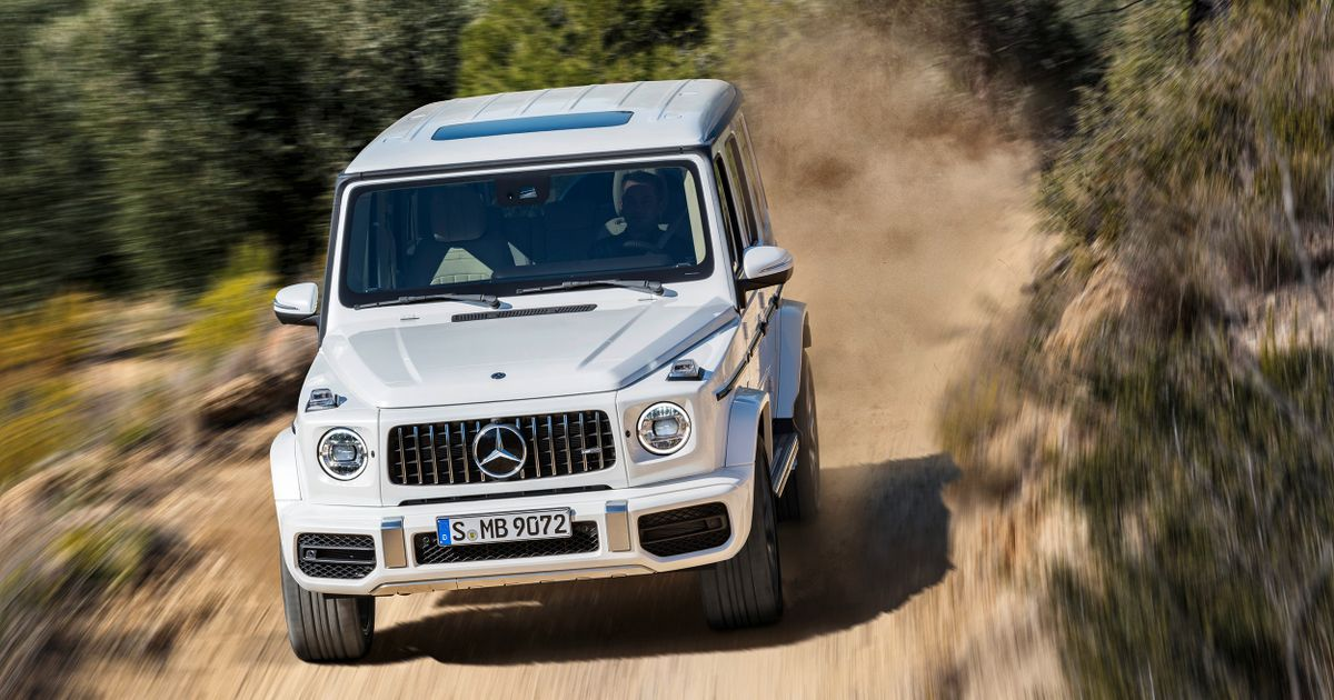 Take A Look At The Brutal New 4.0 Biturbo Mercedes-AMG G 63