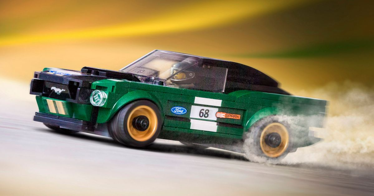 Rejoice, America, For You Can Now Buy A Lego 1968 Ford Mustang