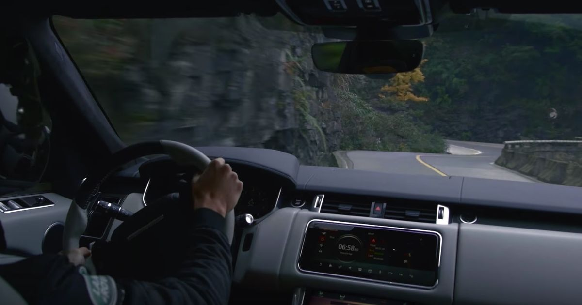 Watch A Range Rover Sport Belt Up A Mountain Pass Faster Than A Ferrari