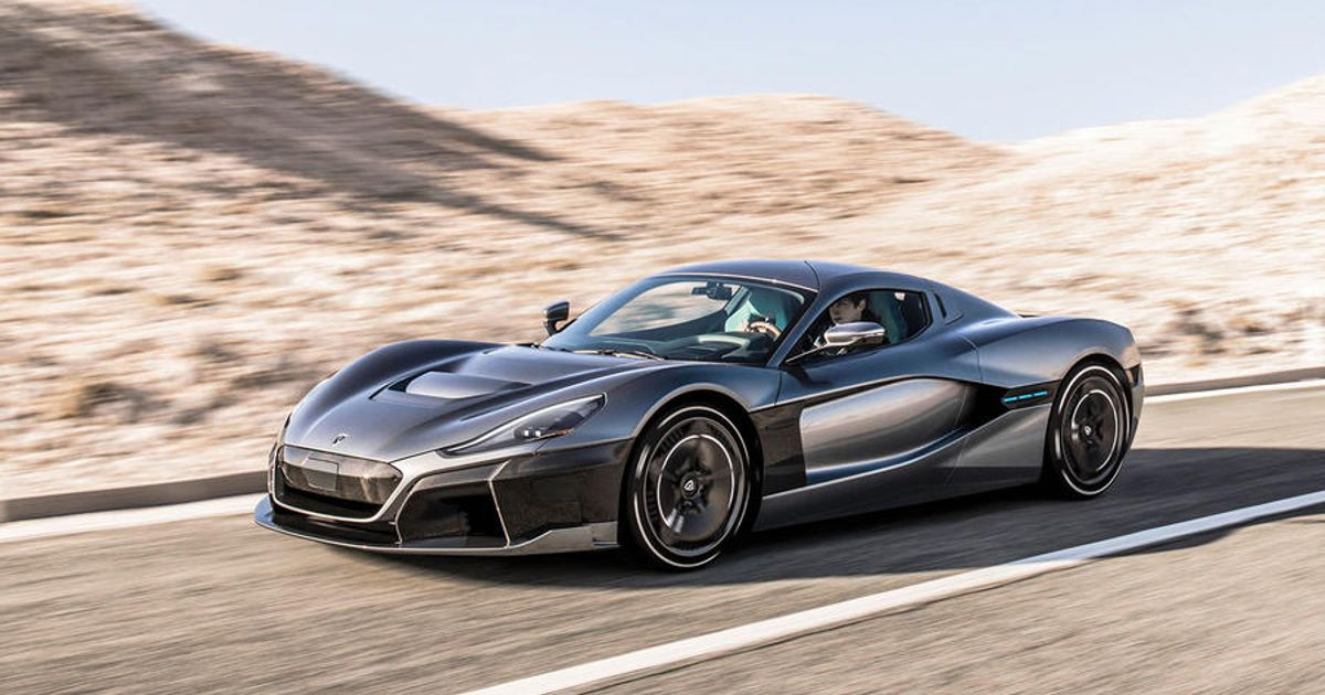 The Rimac C_Two Is Here With 1888bhp And Active Aero