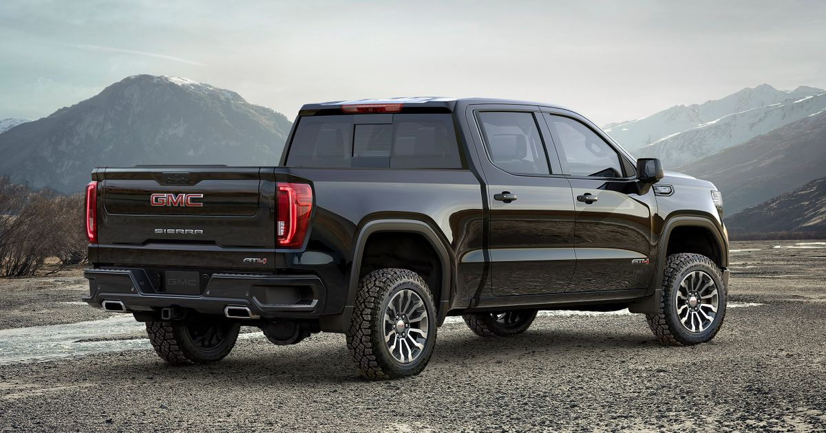 Lifted Gmc Sierra >> The New Lifted Gmc Sierra At4 Is A Truck To Get You Noticed