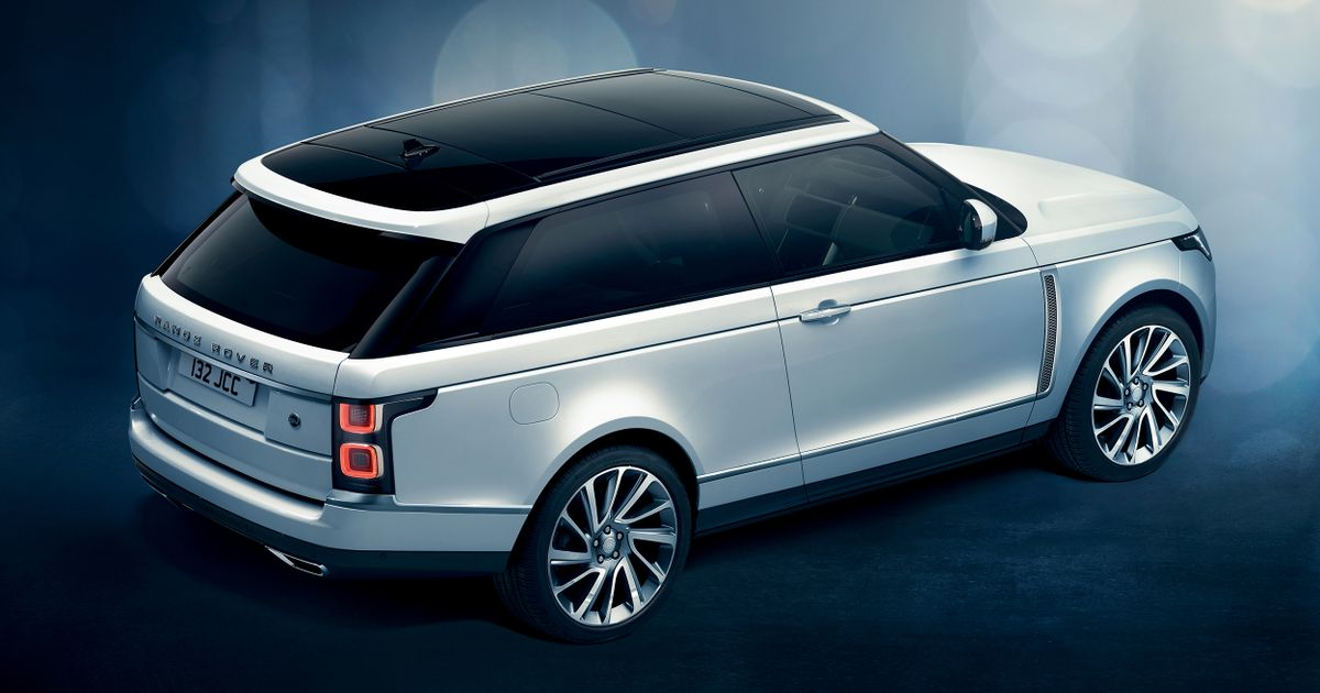The Two-Door Range Rover SV Coupe Has Been Canned