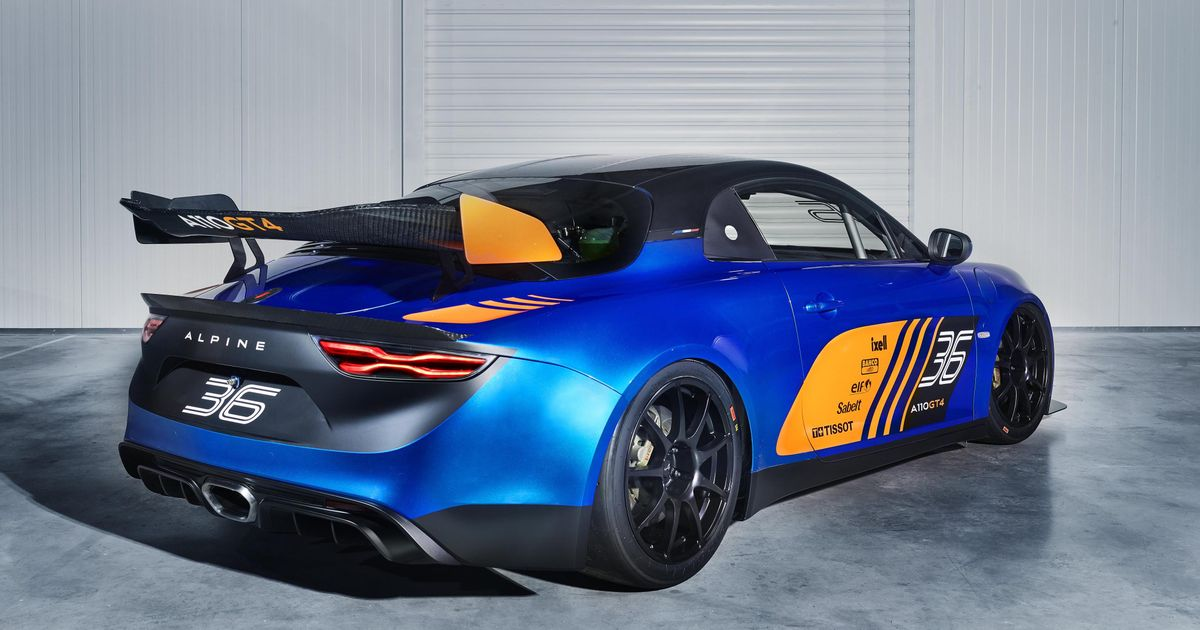 the alpine a110 has morphed into a gt4 racer. Black Bedroom Furniture Sets. Home Design Ideas