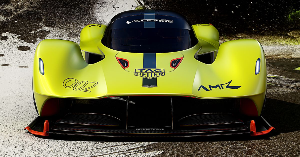 The 1100bhp Aston Martin Valkyrie Amr Pro Can Race Upside Down