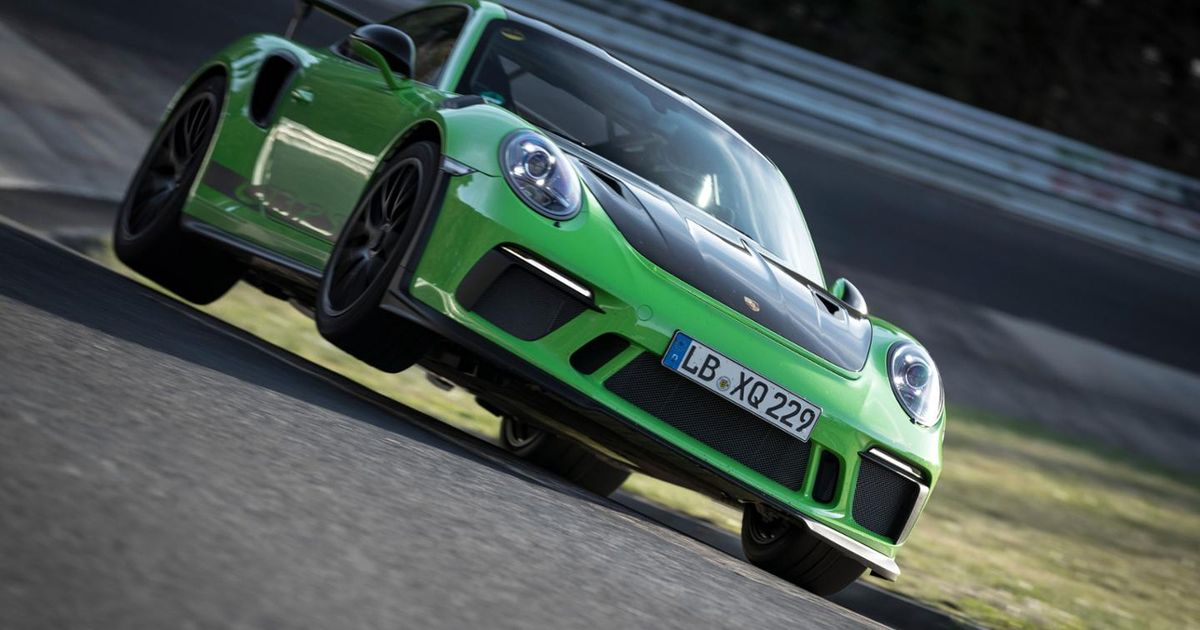 Watch The Updated Porsche 911 GT3 RS Smash Out A Sub-7min  Ring Lap