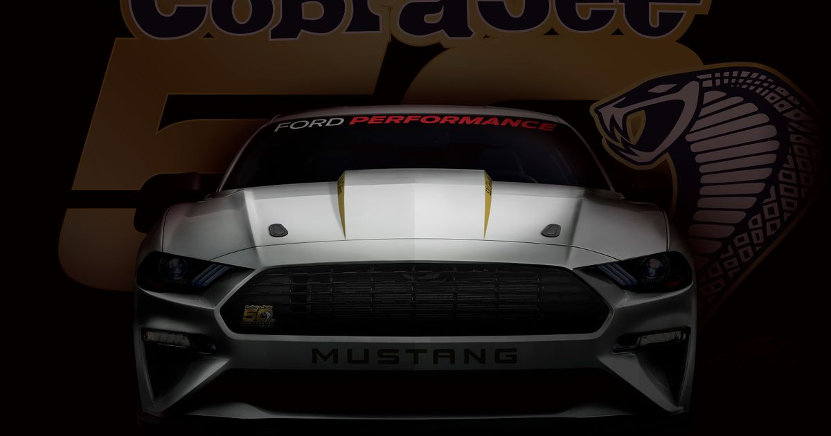 Ford s  8sec  Mustang Cobra Jet Wants To Cleanse The World Of The Demon