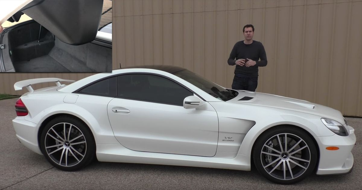 Here's Everything That's Weird An Awesome About The SL65 Black Series