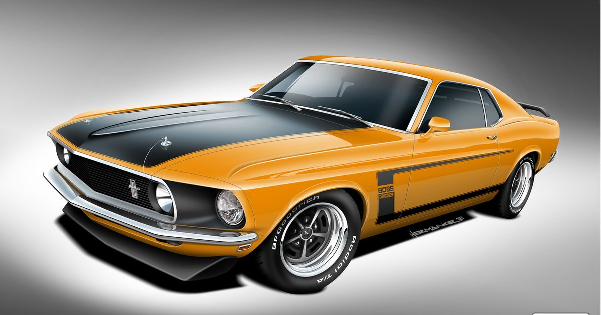 You Can Now Buy A  Brand New  Boss 302, 429 Or Mach 1 Mustang