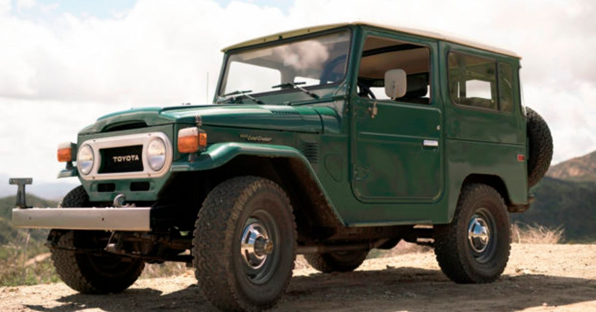 This 40-Year-Old Toyota Land Cruiser Has Covered Just 5000 Miles