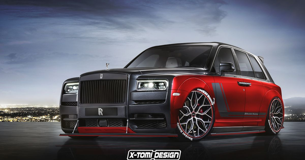 7 Mad Rolls-Royce Cullinan Renders To Wrap Your Head Around