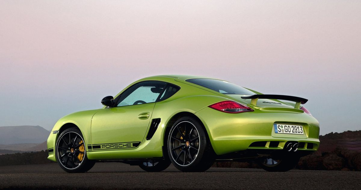 Porsche Has Been Accused Of Cayman R UK Emissions Test Cheating