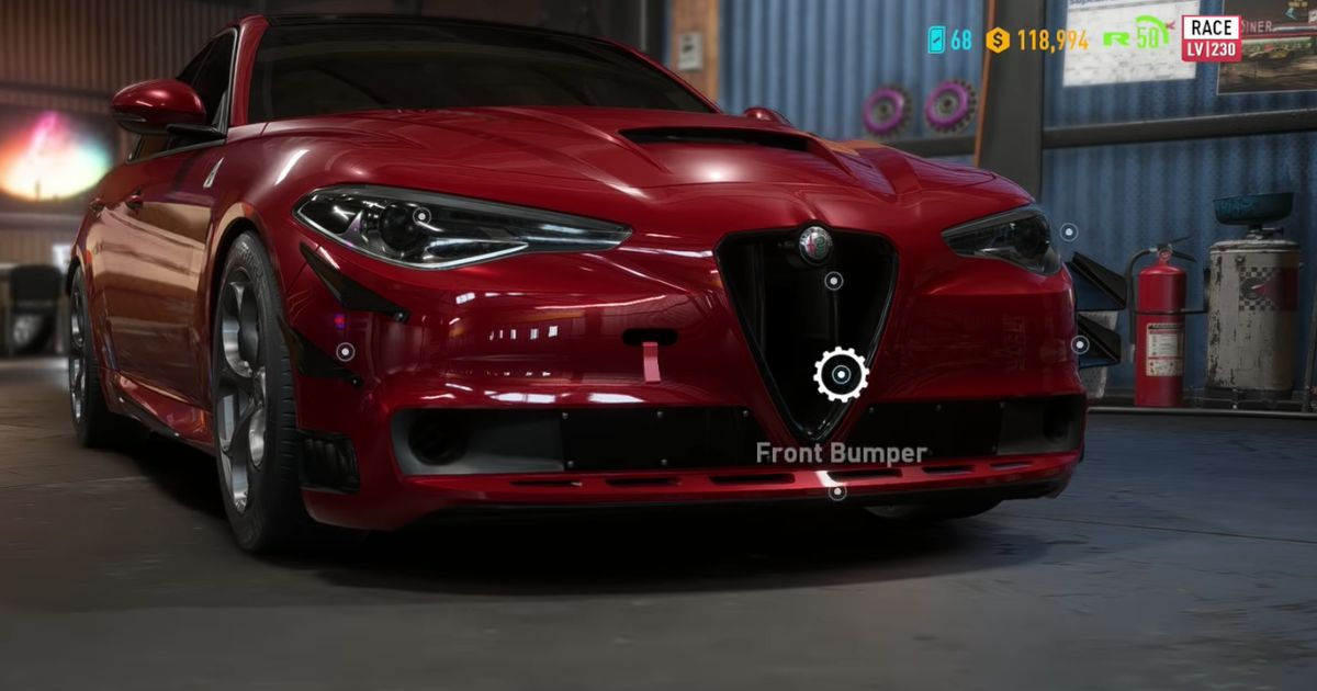 alfa giulia quadrifoglio and more included in nfs payback. Black Bedroom Furniture Sets. Home Design Ideas